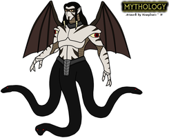 Mythology - Typhon 2011 by HewyToonmore