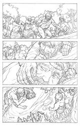 Pocahontas and John Smith Page 10 by JerMohler