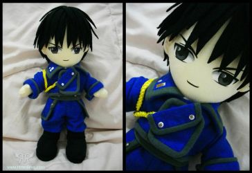 Roy Mustang by renealexa-plushie