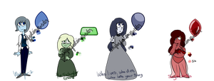 .:Hamilton Gem Adopts[1/4 OPEN]:. by ImperfectImposter