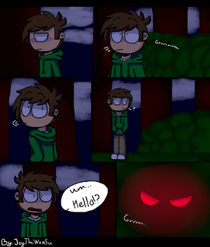 [Eddsworld] Werewolf Edd Page 1 by JeyTheWerefox