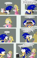 A comic about Sonic in Brawl by madfather