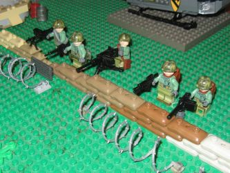 Marine Defensive Perimeter by Bigboymeal15