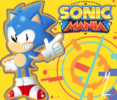 #SonicManiaHype by Darkspike75