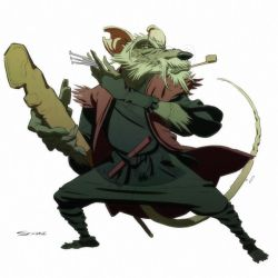 Master Splinter by ChaseConley