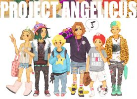 Project Angelicus: The Gang by Furipon