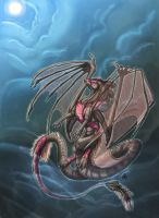 .graceful.ascent. by SunMoonDragoness