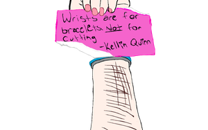 Wrists Are For Bracelets. by xIfThisWasAMovie