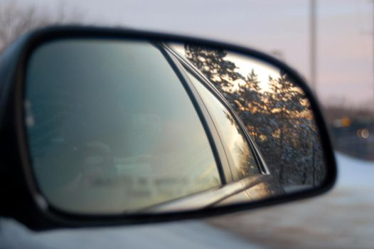 Rear View Mirror by xbeautifullyxtragicx
