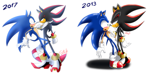 Sonadow - Before|After by SweetSilvy