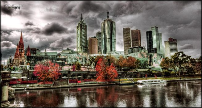 Silver City in Autumn. by DirtyLittleDevil