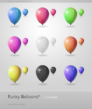 Funky Balloons by tomeqq