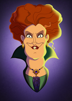Disney Retrospective - The Witch of Salem by Percevanche