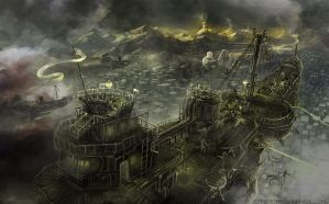 Steampunk Battleship by jbrown67