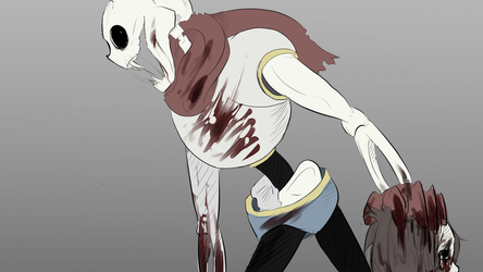 Horrortale Papyrus by SafulousArt