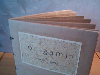 origami book detail 1 by 1hundredmilesaway