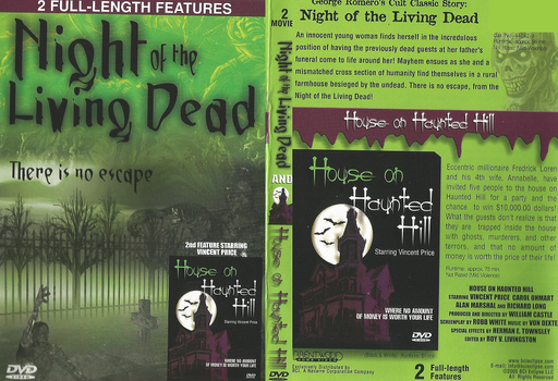 Old Night Of The Living Dead Dvd by DARKZADAR-ZERO