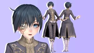 MMD || Black Butler: Charming Ciel by LITTLE-BLUEBELL