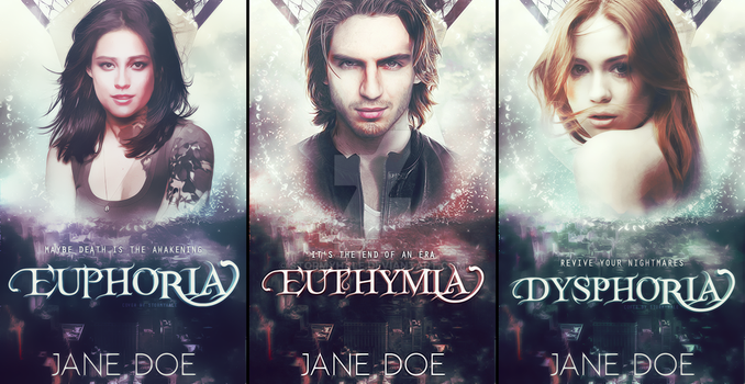 Fake Trilogy Covers by stormyhale