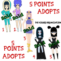 5 Points Naruto Adoptables ::CLOSED:: by MissxKyle