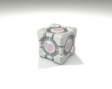 My version of companion cube by CSasCh