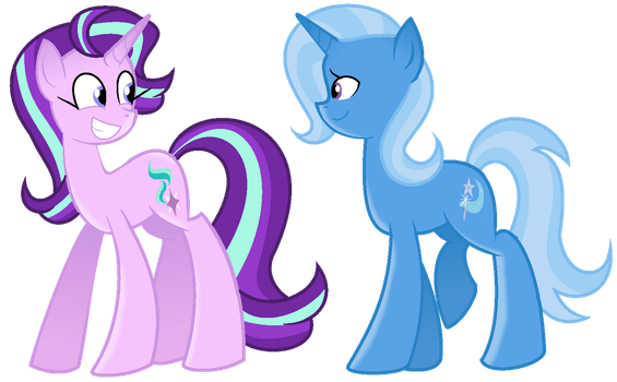 My Little Pony - Starlight and Trixie by Xsecretgirl