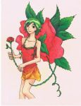 Rose Fairy by Miss-Marquin