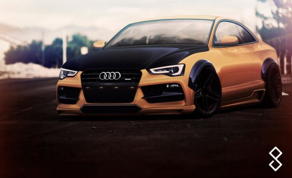 Audi S5 Coupe - 2012 by hugerth