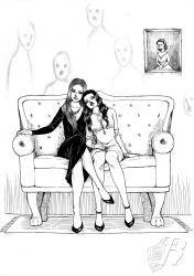 Alessandra and Giulia : Commission by PanTato