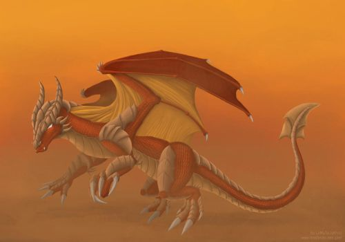 Dragon of the desert by LeMuTaLisKFoU