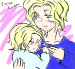 Papa France and Baby Canada by SoubisBlood1