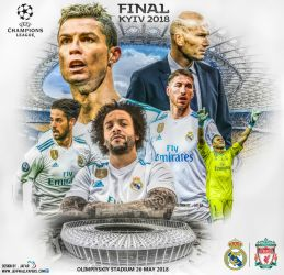 REAL MADRID CF CHAMPIONS LEAGUE FINAL 2018 by jafarjeef