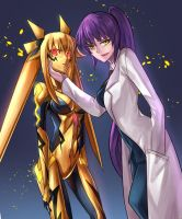 Corrupted Nanoha and Fate by Ibenz009 by NeoOmnimon