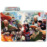 Inhumains VS X-Men by DCTrad