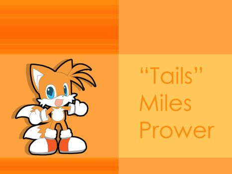 Chibi Tails - Wallpaper by Tigerfog