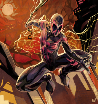 Spiderman 2099 by daremaker