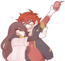 707 and MC: Mystic Messenger by SecretNarcissist