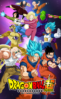 dragon ball super universo 7 by naironkr