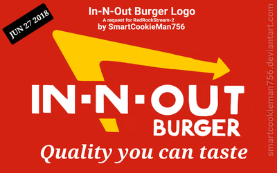 In-N-Out Burger Logo (Request) by SmartCookieMan756