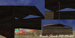 Beach Shack Object by Whisperingwaves