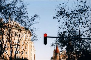 Barcelona 2005 - Traffic jam by nftadaedalus