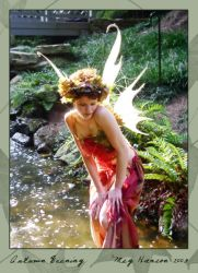 Angel, Autumn Evening 02 by phoxphoto