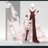(CLOSED) Adoptable Outfit Auction 273 by JawitReen