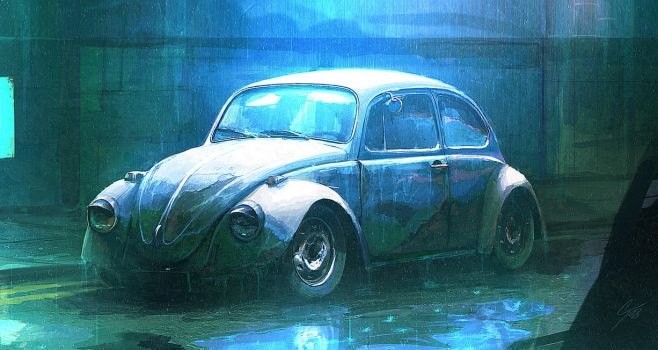 Speedpaint - Neglected Beetle by ANTIFAN-REAL