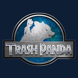 Trash Panda by sugarpoultry