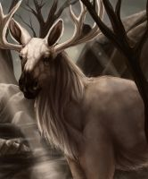 Realistic Stantler