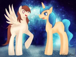 .: Swift Star and Diamond Moon's offsprings :. by ASinglePetal