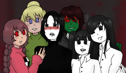 Yume Nikki Characters by ChibiAndyChan