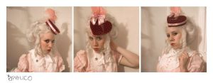Valentine Hat and Dress by apatico