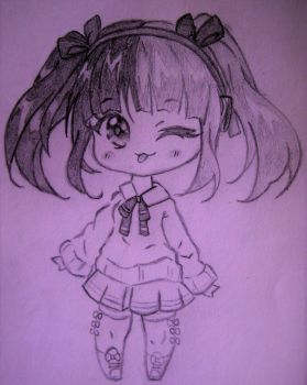 Chibi by SophieSeraph